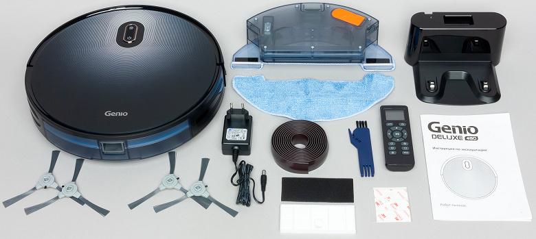 Робот-пылесос Genio Deluxe 480 комплектация