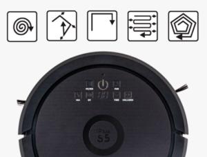 Режимы уборки робота пылесоса iPlus S5