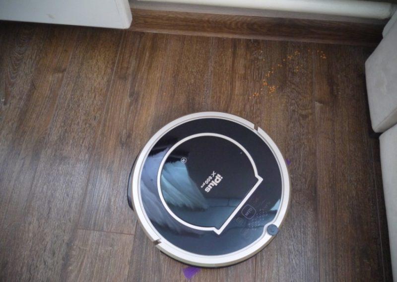 Навигация робота-пылесоса iplus x600pro