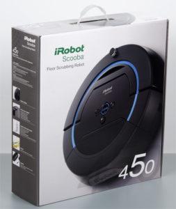 Комплектация iRobot Scooba 450