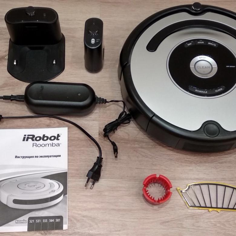 iRobot-Roomba-555-комплектация