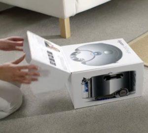 робот пылесос дайсон - комплектация