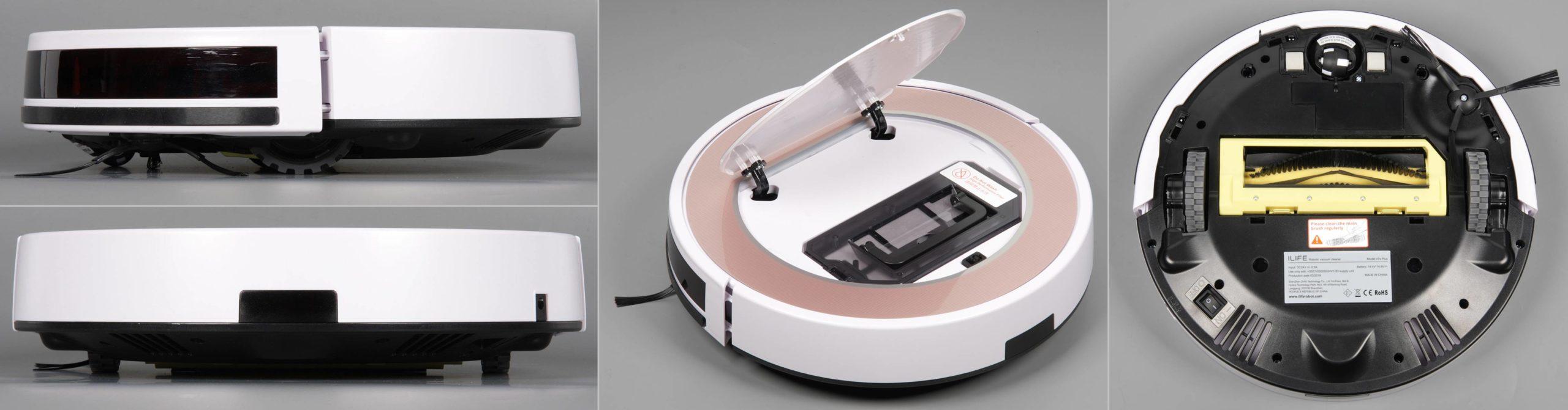 ilife v7s plus робот пылесос