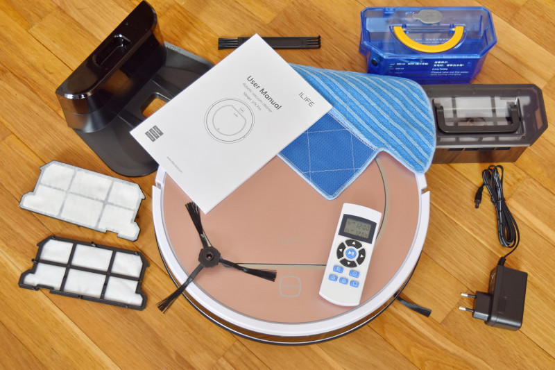 Комплект поставки iLife V7s Pro