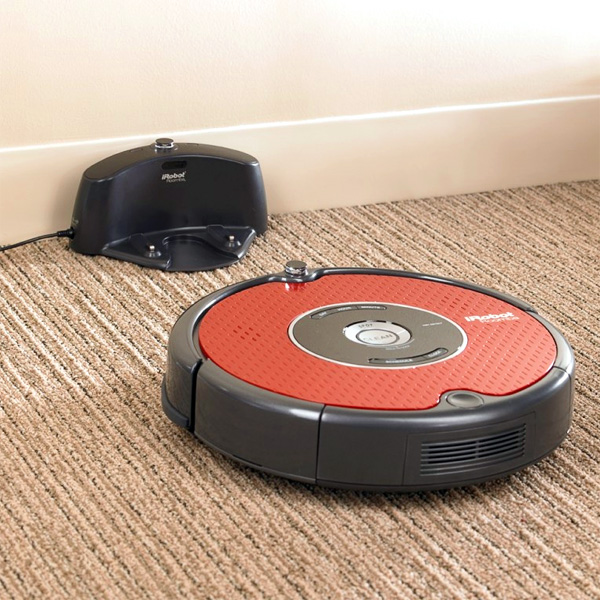 iRobot-Roomba-625-возврат-на-базу