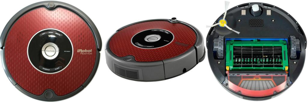 iRobot Roomba-625-внешний-вид