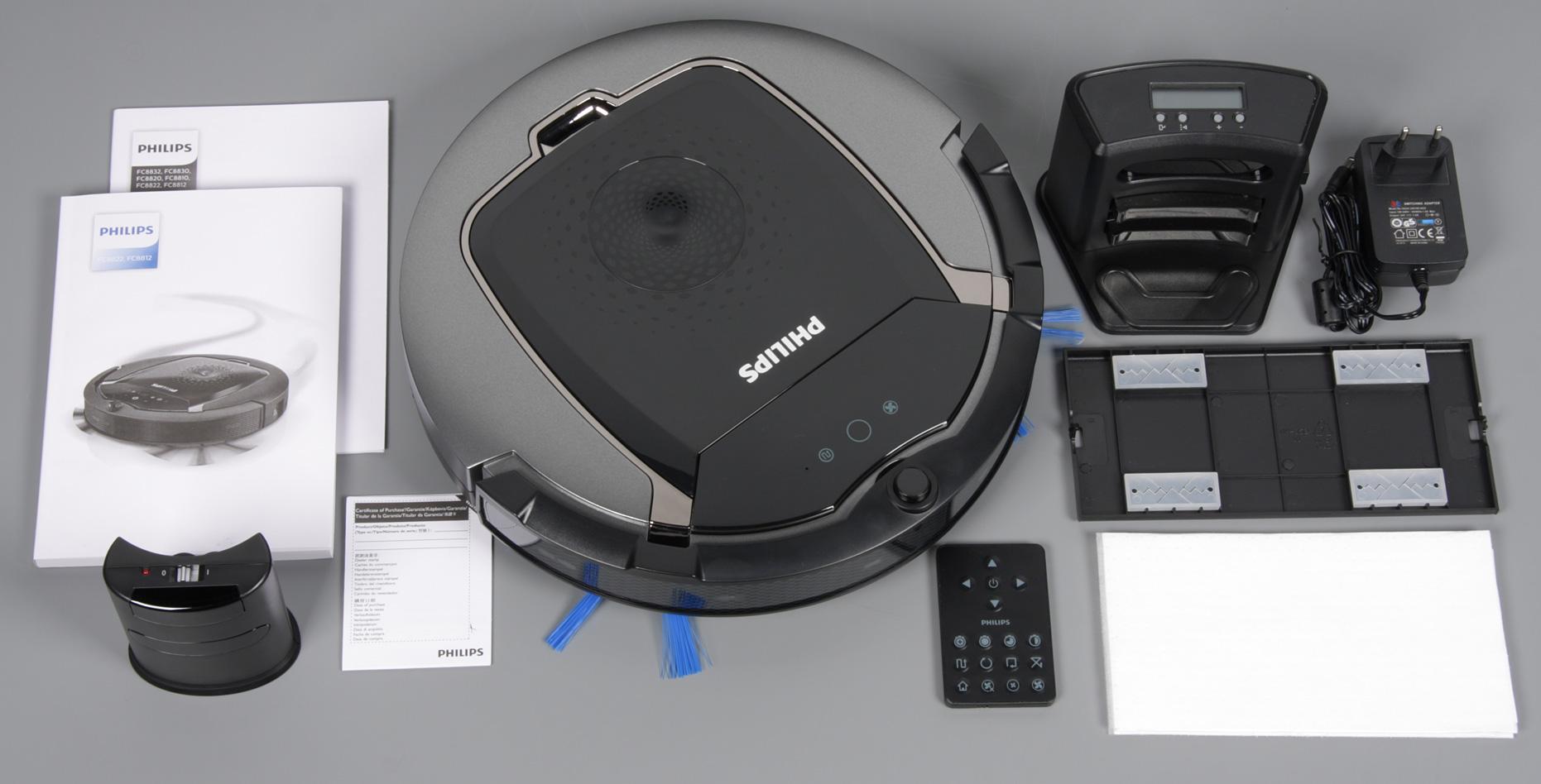 робот пылесос philips smartpro active fc8822 01