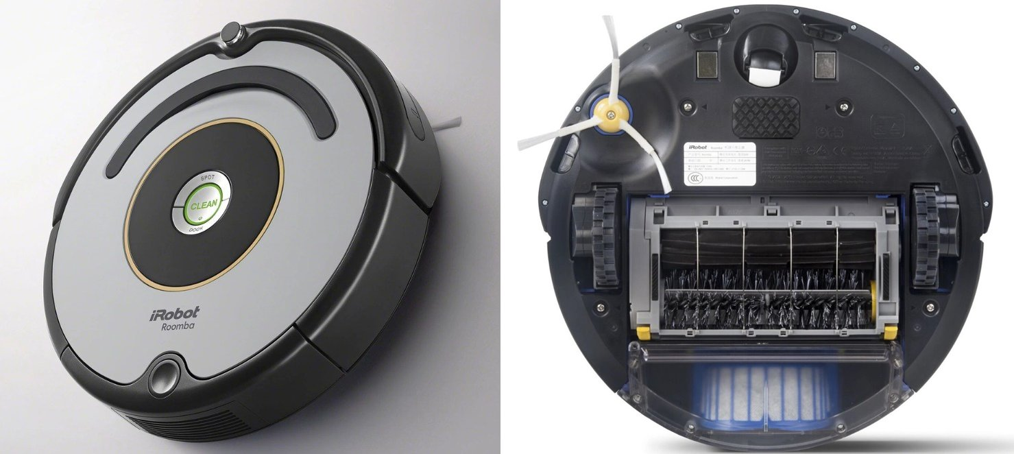 робот пылесос irobot roomba 615 характеристики