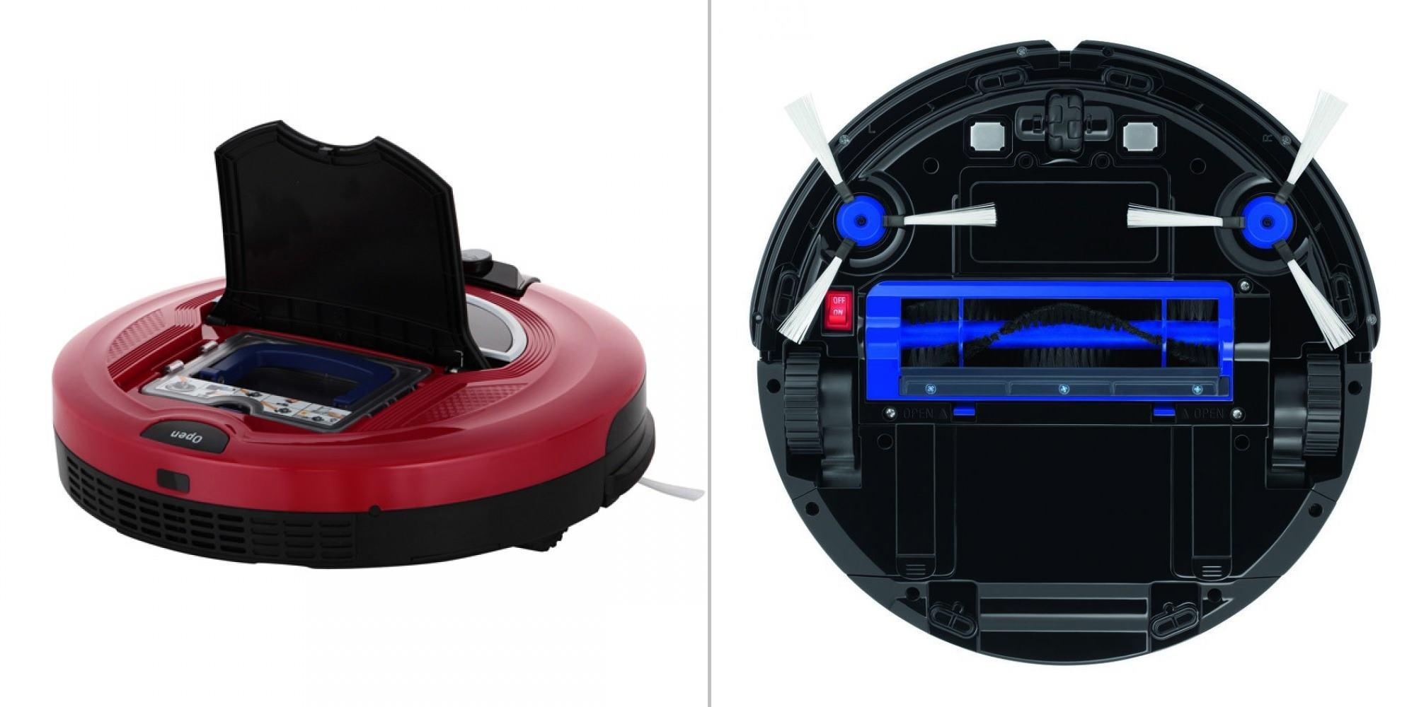 робот пылесос tefal rg7133rh smart force extreme красный