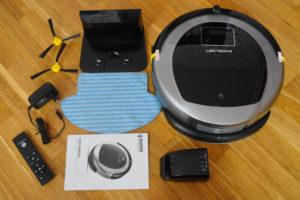 liectroux b6009 робот пылесос - комплектация