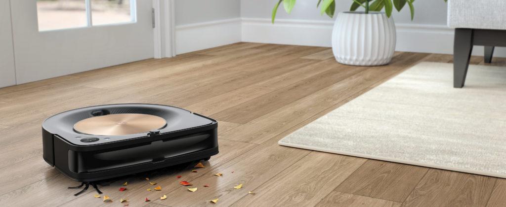 Roomba-S9-уборка-сухая