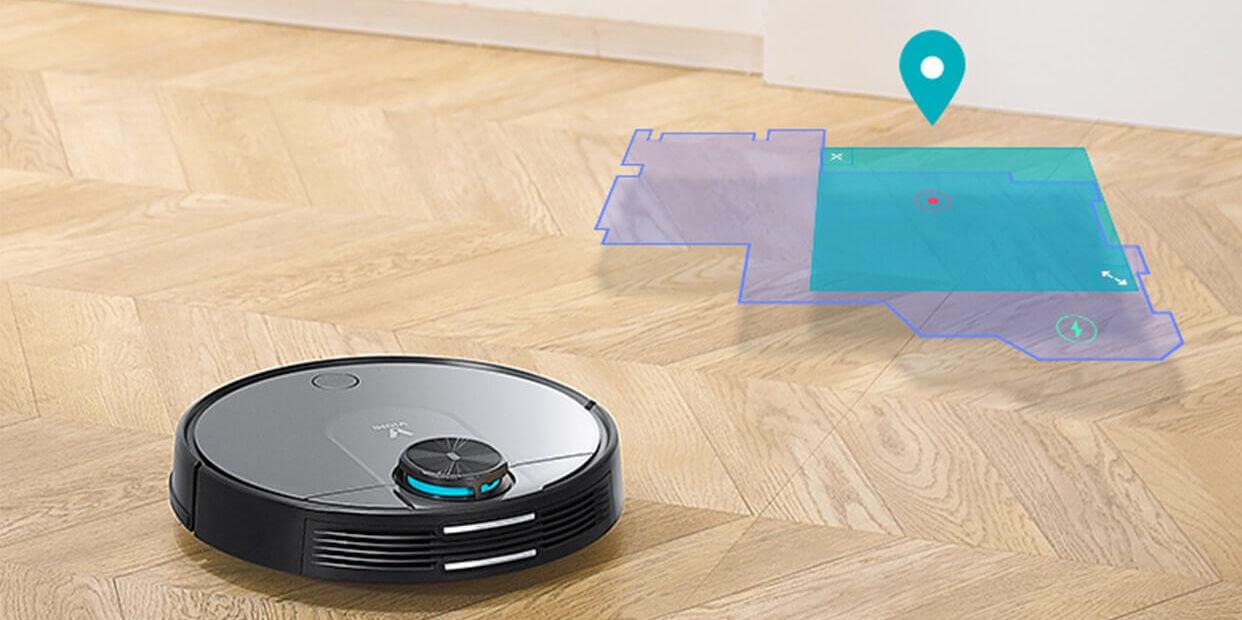 робот пылесос xiaomi viomi cleaning robot