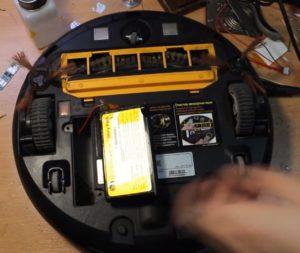 Ремонт робота пылесоса LG HOM-BOT