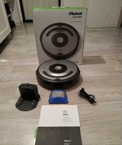 Робот-пылесос-iRobot-Roomba-616-комплектация