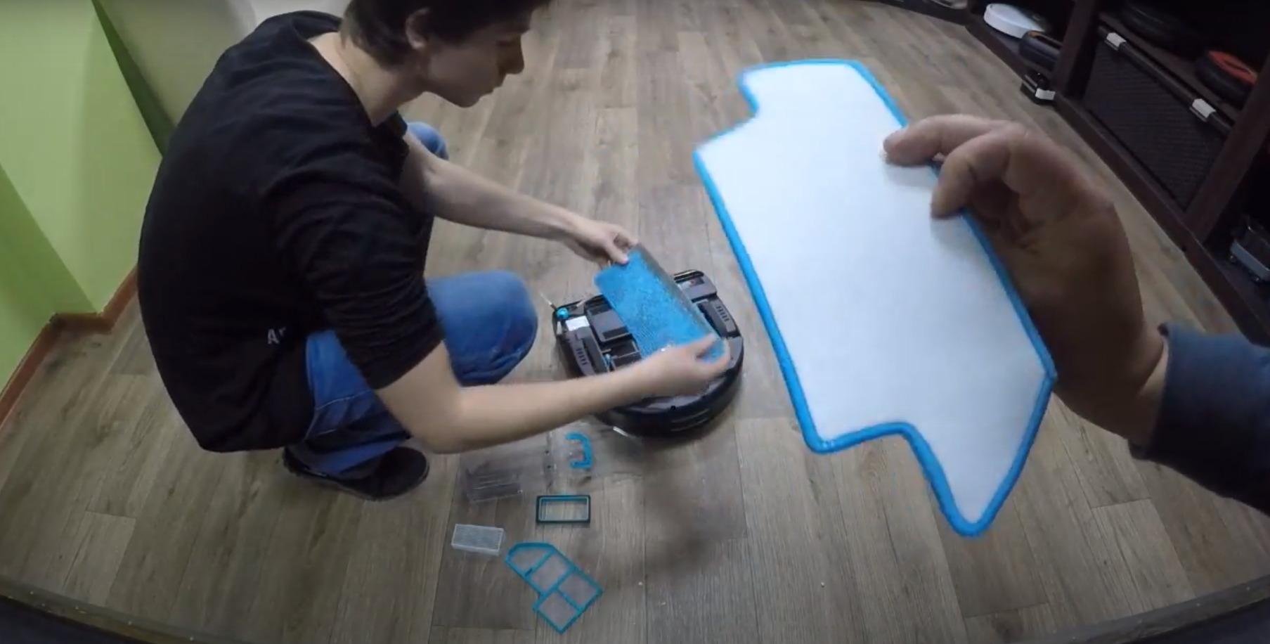 моющий робот пылесос хобот отзывы