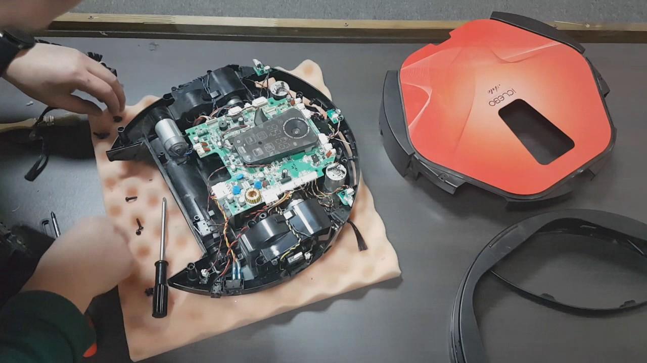ремонт робота пылесоса айклебо арте
