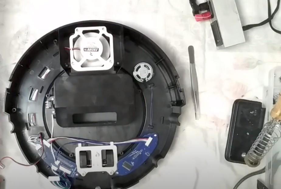 ремонт роботов пылесосов kitfort