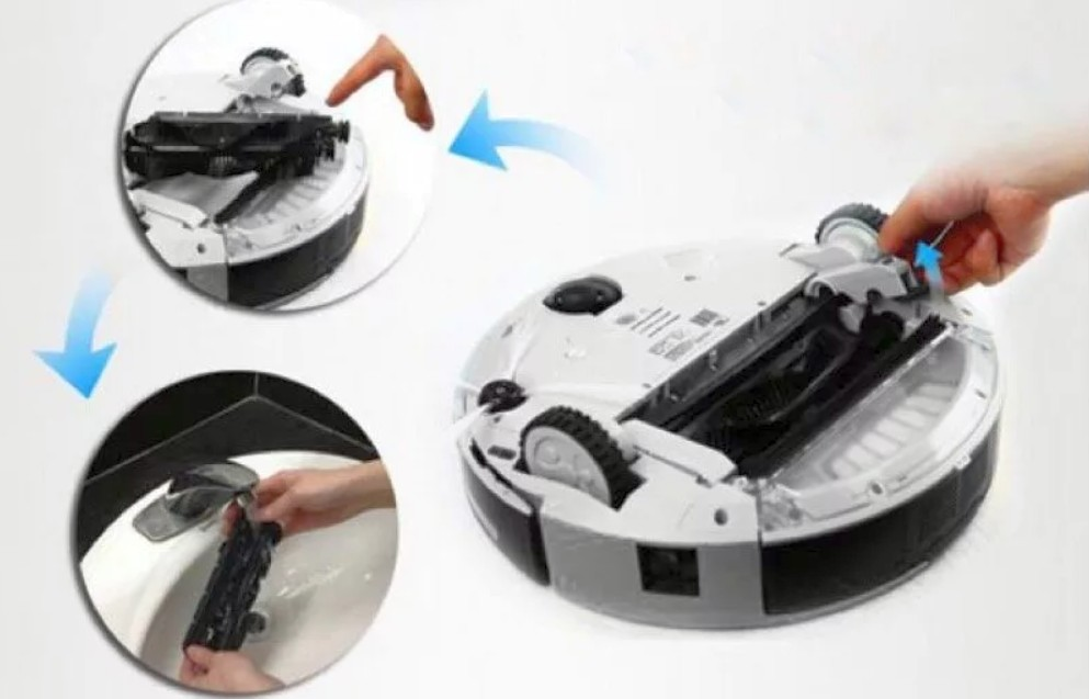 как почистить робот пылесос