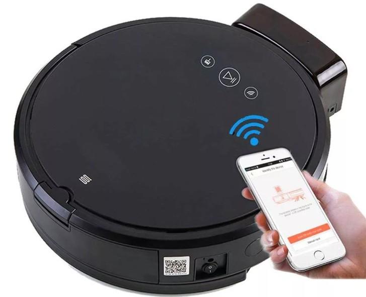 Как подключить робот пылесос к wifi