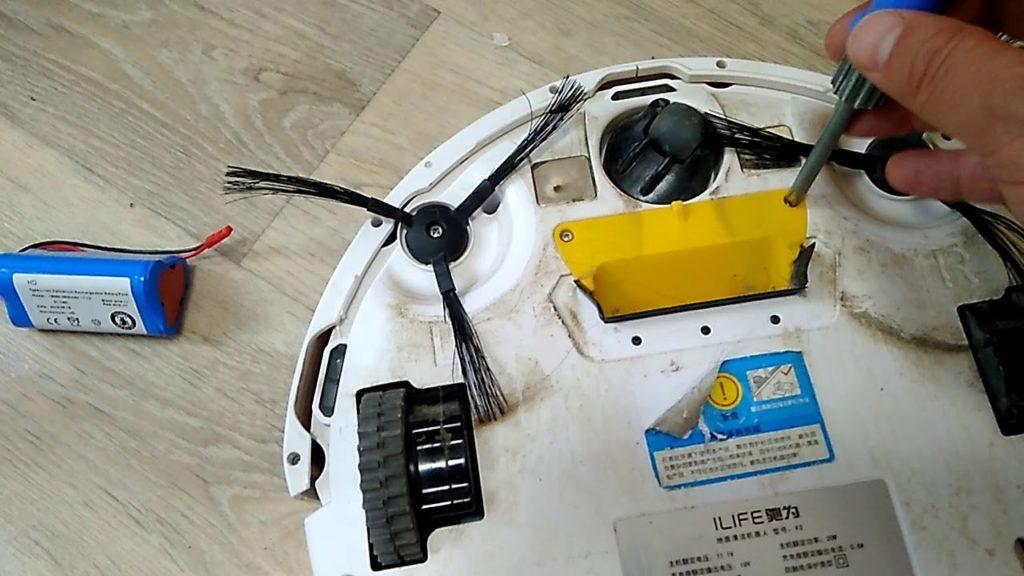 почему не заряжается робот пылесос