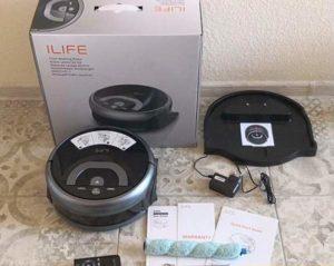 ilife w400 робот