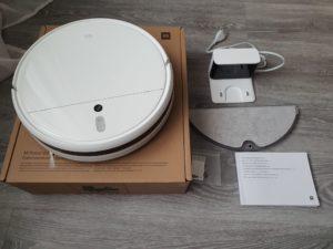 робот пылесос xiaomi mi robot vacuum mop - комплект поставки