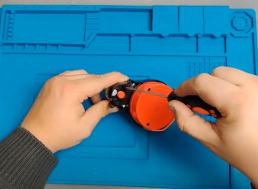 Замена моторчика лидара Xiaomi