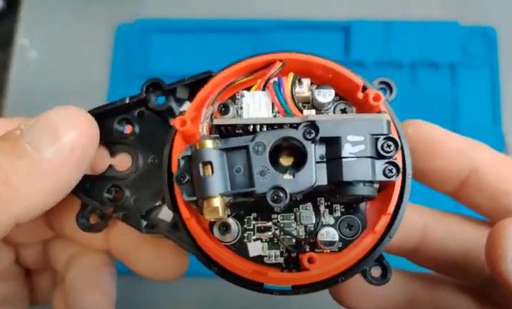 Замена LDS робота-пылесоса Xiaomi