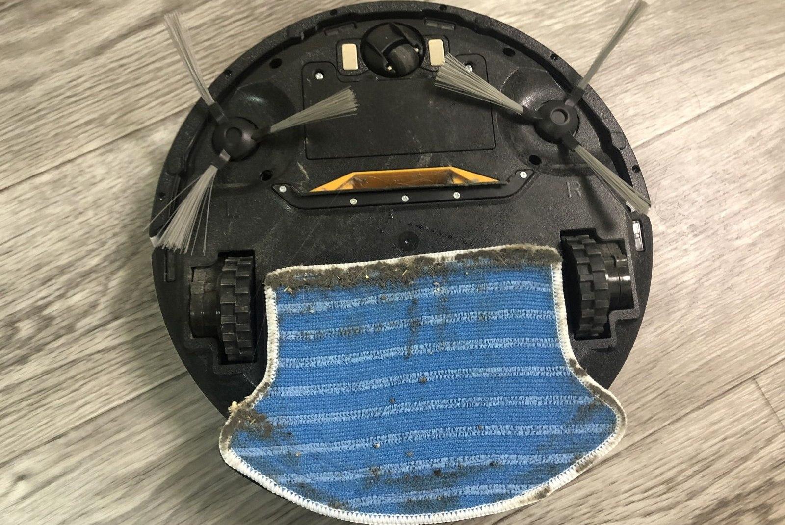 робот пылесос редмонд рв 450 - влажная уборка
