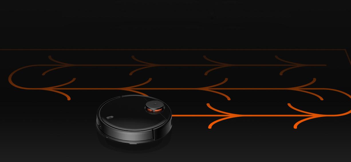 xiaomi mi robot vacuum mop p черный