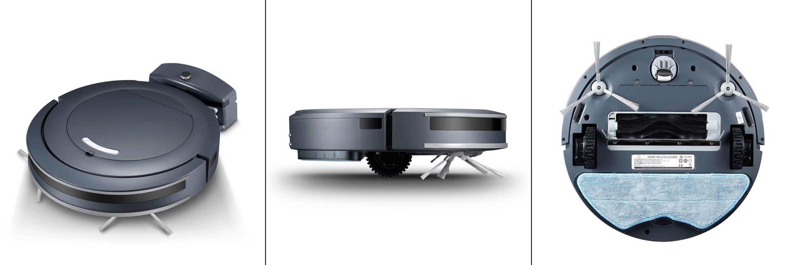 робот пылесос doni v16