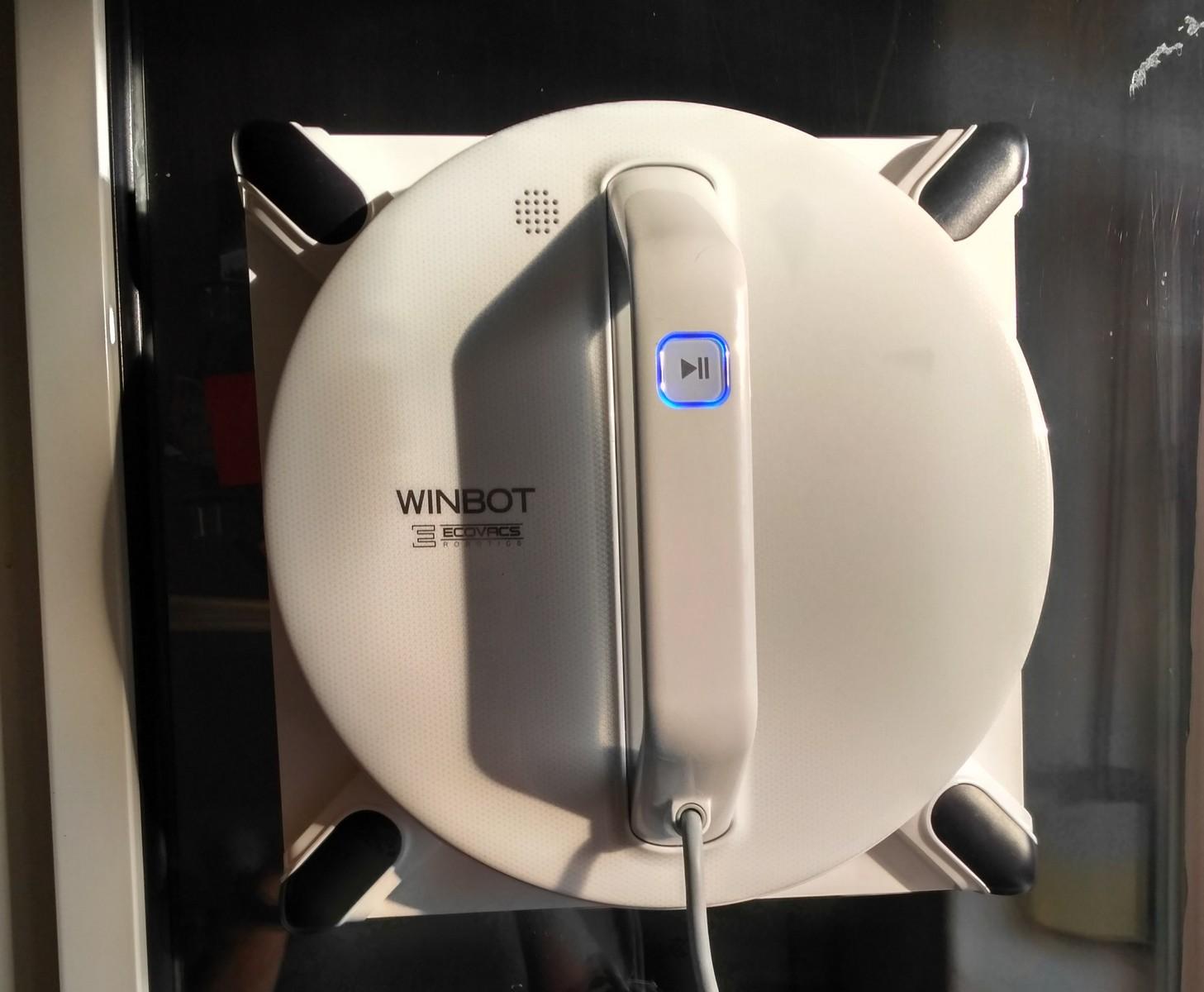 робот для мойки окон ecovacs winbot w950 - отзывы