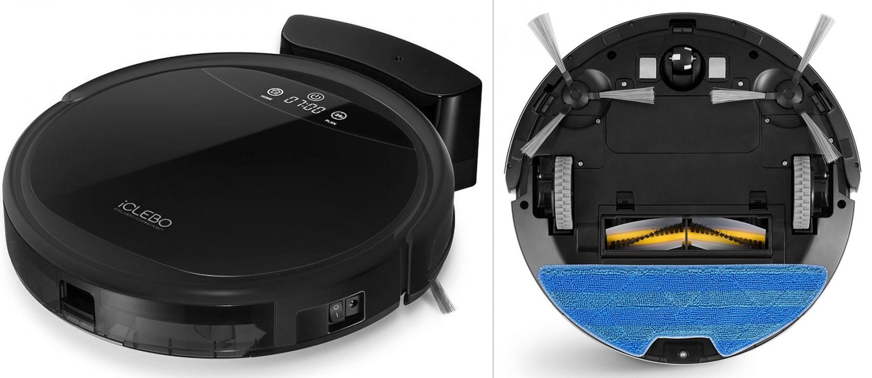 робот пылесос iclebo g5 черный - отзывы