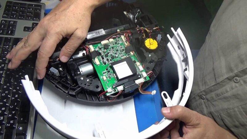 Поломка платы управления робота-пылесоса