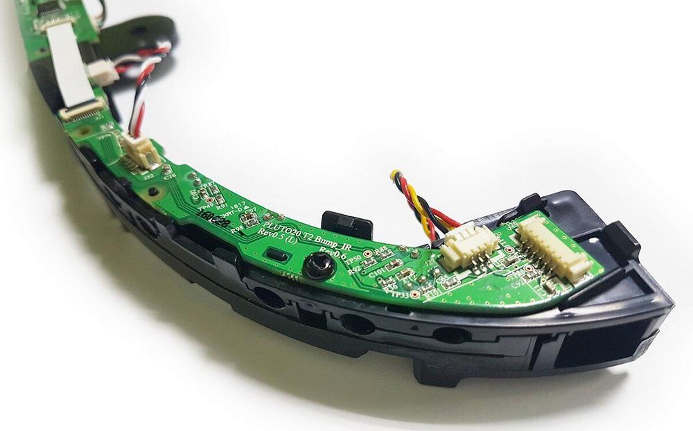 Датчики бампера у робота-пылесоса