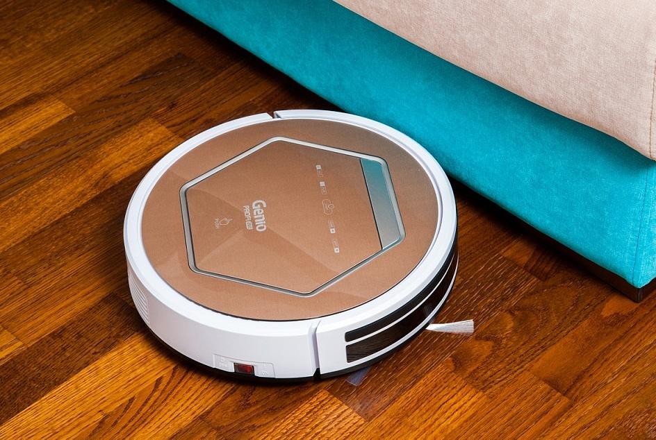 робот-пылесос бьется об мебель