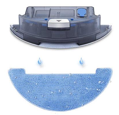 Подача воды на тряпку самотеком в роботе-пылесосе