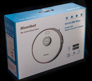 пылесос робот mamibot exvac880 белый