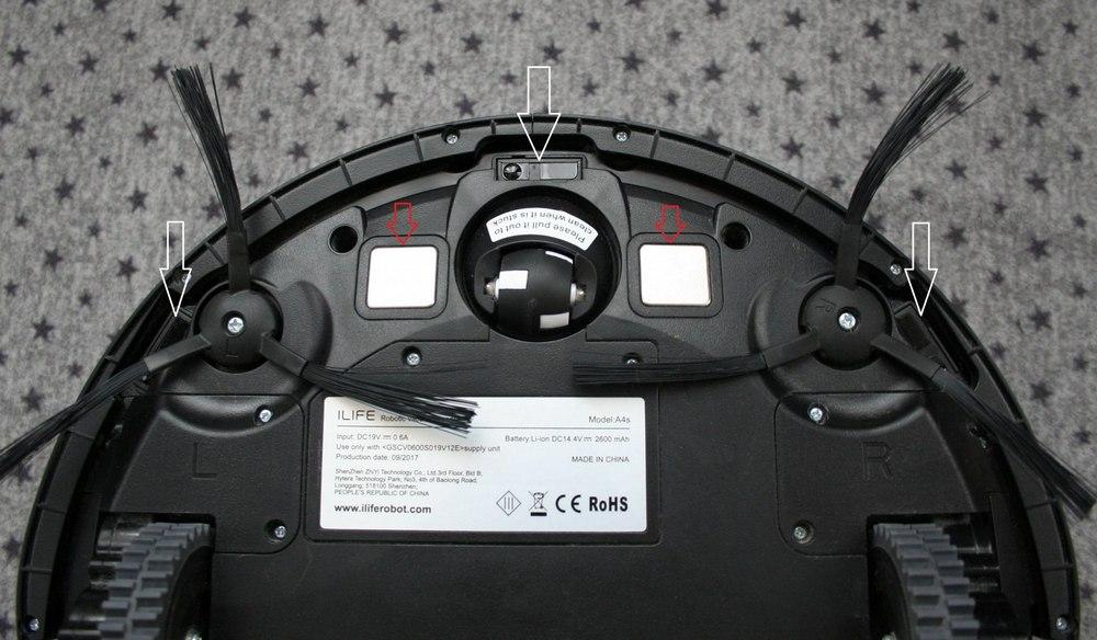 Робот-пылесос ILIFE A9s - чистка и обслуживание