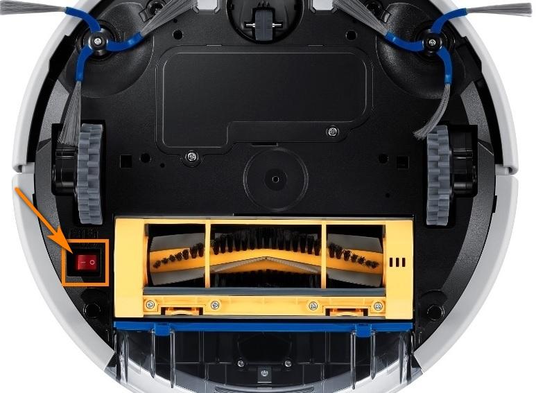 Робот-пылесос Самсунг - ошибка C00