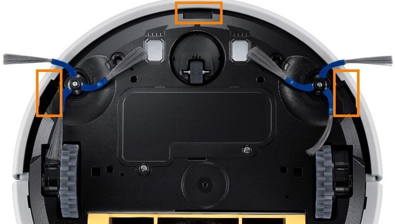 Датчика обрыва в роботе-пылесосе Самсунг