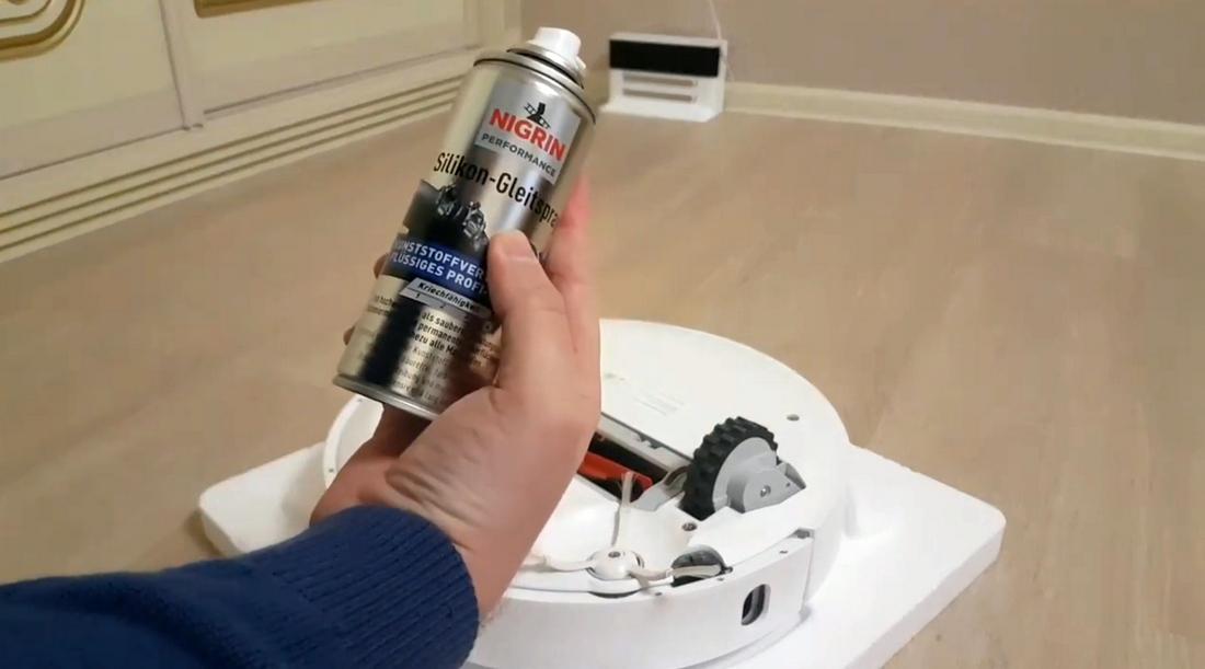 трещит робот пылесос