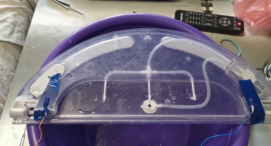 Xiaomi Mi Robot Vacuum-Mop 1С не подаёт воду на тряпку
