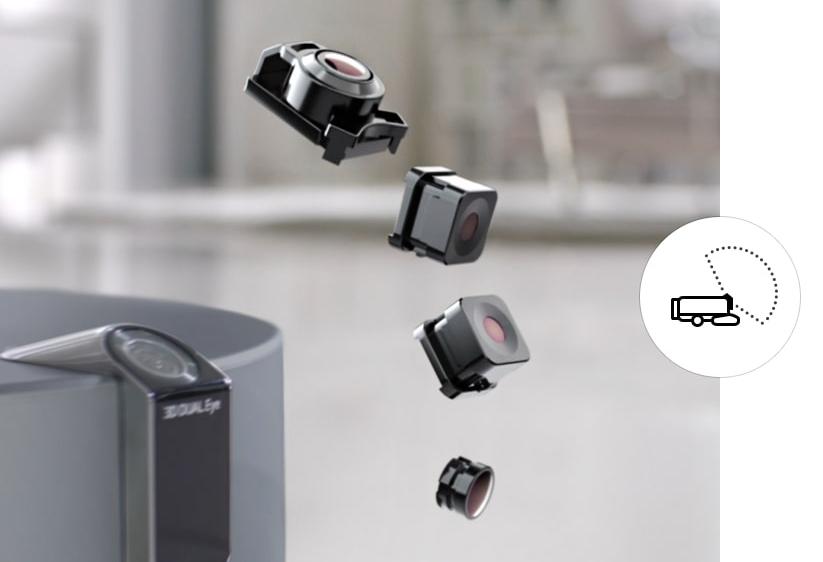 Робот-пылесос с камерой навигации