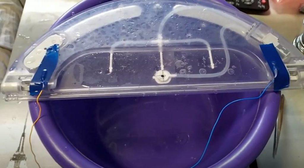Засорение трубок робота-пылесоса