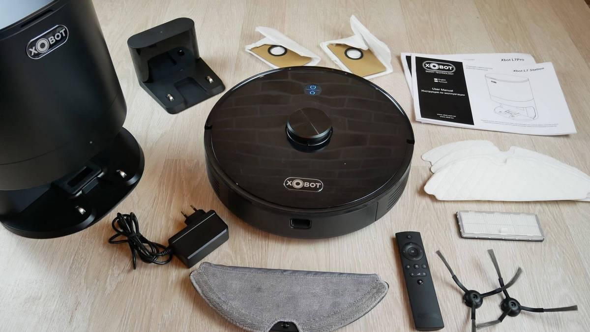 xbot l7 pro робот пылесос